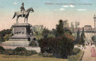 Potsdam, Denkmal Kaiser Wilhelm I. und Stadtschloss