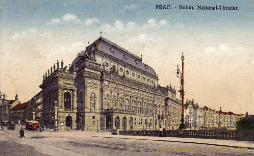 Prag, Böhmisches National-Theater