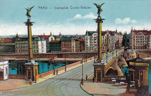 Prag, Svatopluk Čech-Brücke