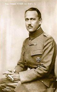 Prinz Heinrich XXXIII. von Reuß j.L.