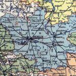 Provinz Brandenburg, Landkarte 1914