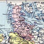 Provinz Schleswig-Holstein, Landkarte 1914