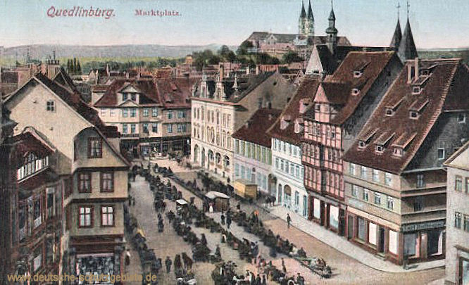 Quedlinburg, Marktplatz