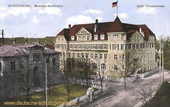 Ravensburg, Mädchen-Realschule, Kath. Gesellenhaus