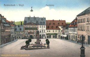 Reichenbach im Vogtland, Marktplatz