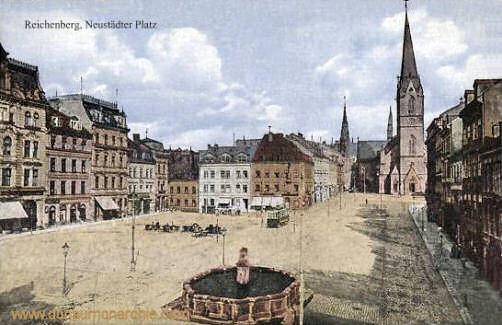 Reichenberg, Neustädter Platz