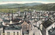 Reichenberg vom Bahnhof aus gesehen