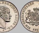 1 Taler, 1862, Heinrich LXVII. Fürst Reuss j. L.