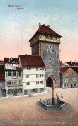 Reutlingen, Gartentor