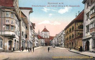 Rottweil a. N., Hauptstraße