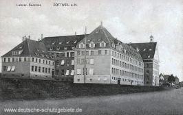 Rottweil a. N., Lehrer-Seminar