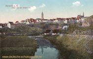 Rottweil a. N., Totale von der Brücke aus