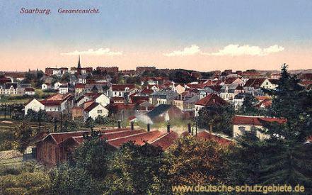 Saarburg in Lothringen, Gesamtansicht