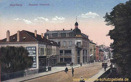 Saarburg in Lothringen, Französische Vorstadt