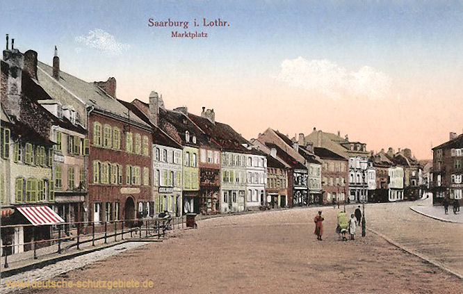 Saarburg i. L., Marktplatz