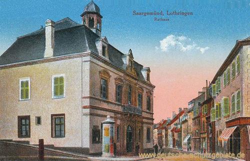 Saargemünd, Rathaus