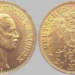 20 Mark, Sachsen 1905