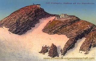 Säntisspitze, Gasthaus mit dem Observatorium