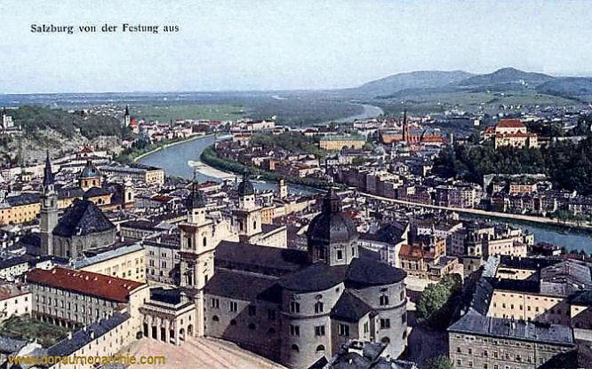 Salzburg von der Festung aus
