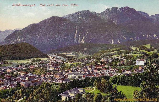 Salzkammergut, Bad Ischl mit kaiserlicher Villa