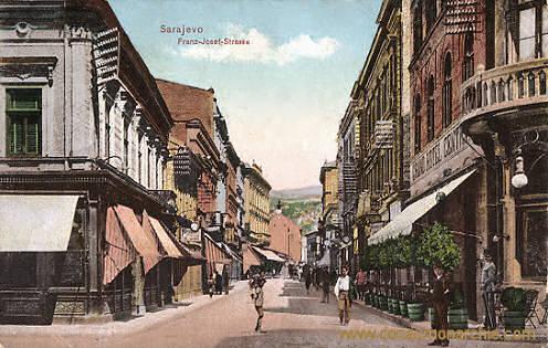 Sarajevo, Franz-Josef-Straße