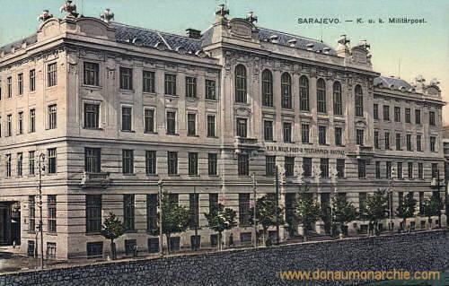 Sarajevo, K. u. k. Militärpost