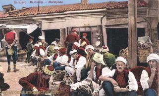 Sarajevo, Marktplatz