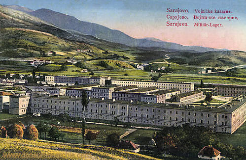 Sarajevo, Militär-Lager