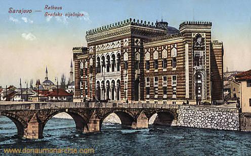 Sarajevo, Rathaus