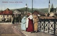 Sarajevo, Türkinnen auf der Straße