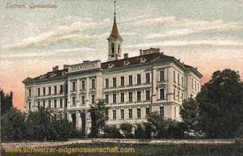 Sarnen, Gymnasium