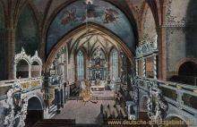 Schleiz, Inneres der Bergkirche
