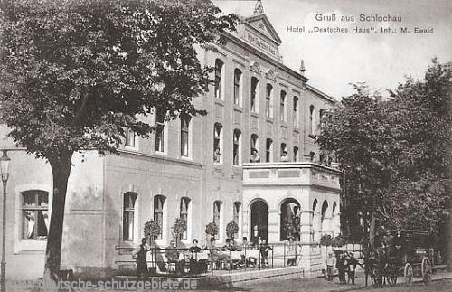 Schlochau, Hotel Deutsches Haus