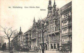 Schöneberg, Kaiser Wilhelm-Platz, Rathaus