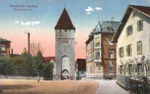 Schwäbisch Gmünd, Ruderbacher Tor