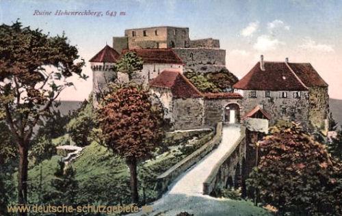 Schwäbisch Gmünd, Ruine Hohenrechberg