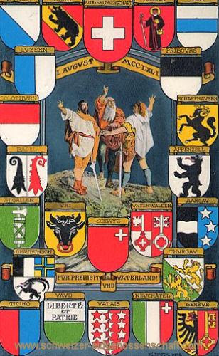 Kantonswappen der Schweiz