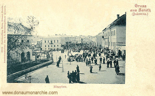 Sereth (Bukowina), Ringplatz