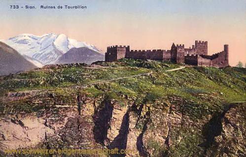 Sion, Ruines de Tourbillon