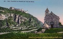 Sion, Tourbillon et chapelle de Tours les Saints