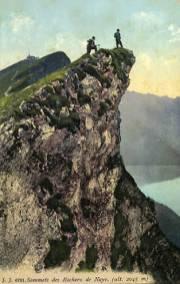 Sommets des Rochers de Naye (2045 m)