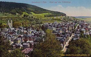 Sonneberg, Blick auf den Schönberg