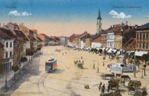 Ödenburg (Sopron), Grabenrunde