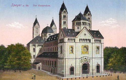 Speyer, Der Kaiserdom