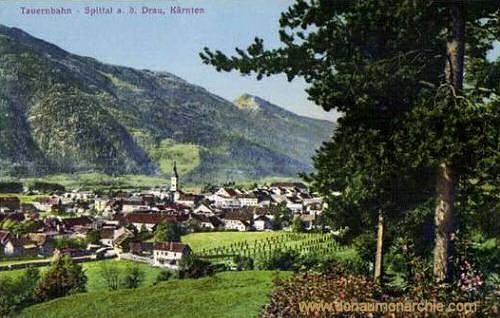 Tauernbahn, Spittal a. d. Drau, Kärnten