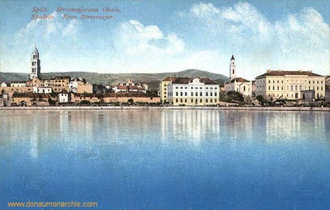 Spalato (Split), Riva Strosmajer