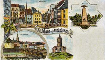 Sankt Johann a. d. S., Marktplatz, Alte Brücke, Ehrental
