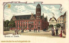 Stade, Kaiserliche Post