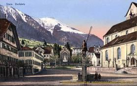 Stans, Dorfplatz