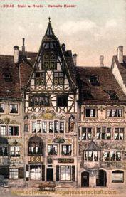 Stein a. Rhein, Bemalte Häuser